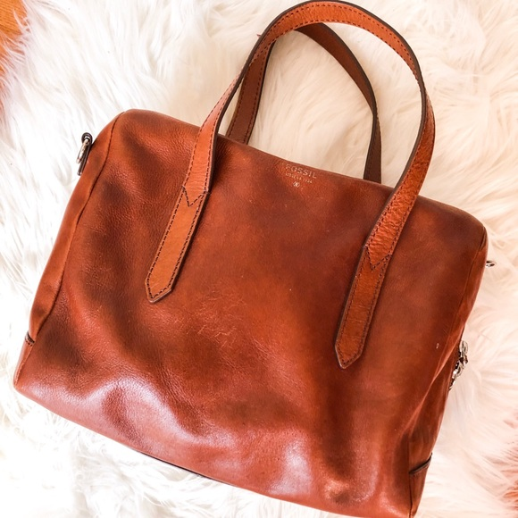 Fossil Handbags - Fossil Genuine Leather Bag